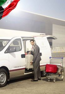 Baggage Delivery Service - Arrival at Kuwait International Airport