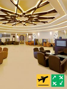 VIP Diamond Lounge - Departure from Abu Dhabi (1 Member Guest)