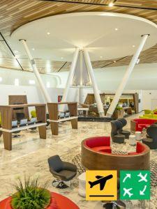 Marrakech Airport Lounge