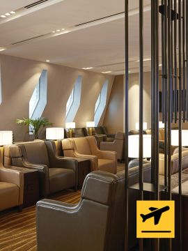 Al Dhabi Lounge - Transfer via Abu Dhabi International Airport Terminal 1 - Extended Stay (6hrs)