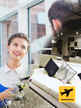 Premium Meet and Assist + Lounge - Departure from Amman