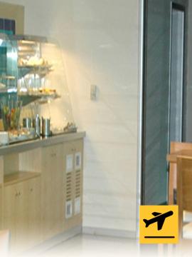 Esenboga Lounge - Departure from Ankara
