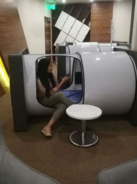 Sleeping pods cairo airport