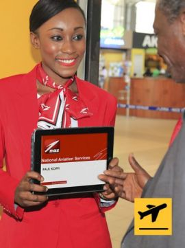 Meet and Assist - Departure from Maputo Domestic Airport
