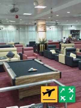 Karibuni Lounge - Departure from Entebbe