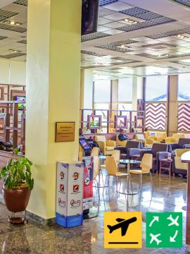 Pearl Lounge - Departure from Kigali International Airport
