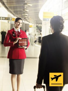 Golden Class Meet and Assist - Departure from Abu Dhabi International Airport - For Voucher Holders