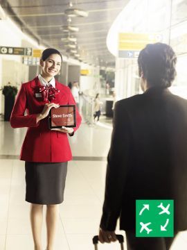 Golden Class Meet and Assist - Transfer via Abu Dhabi International Airport