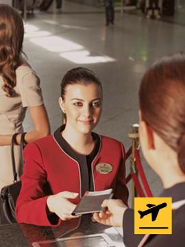 Primeclass CIP Departure from Ankara