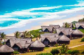 Mozambique Airport lounge